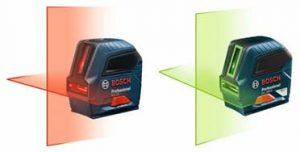 New Bosch Lasers Go Green